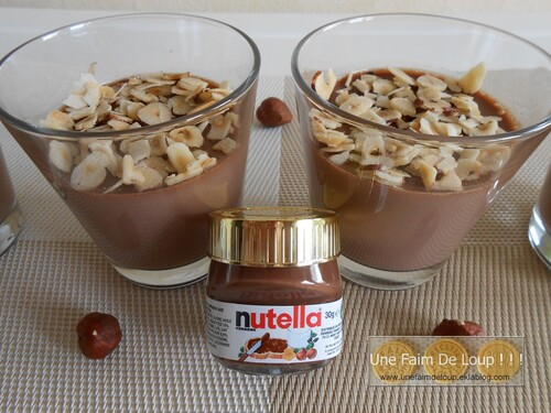 Panna Cotta au Nutella