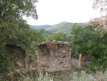 Les ruines de Mirabélet