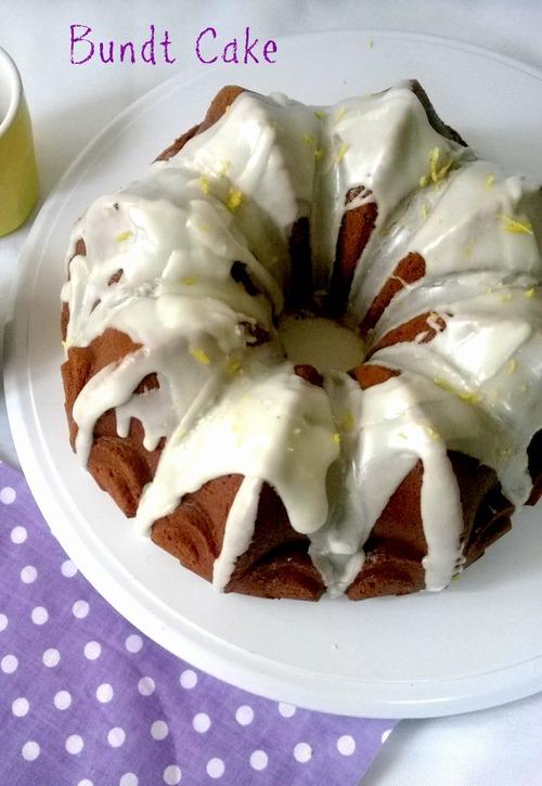 Bundt Cake citron pavot