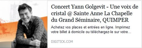 Concert Yann Golgevit