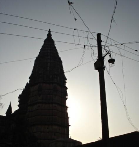 Réseau electrique Inde Orcha