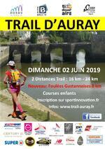 Le Trail d'Auray - Dimanche 2 juin 2019