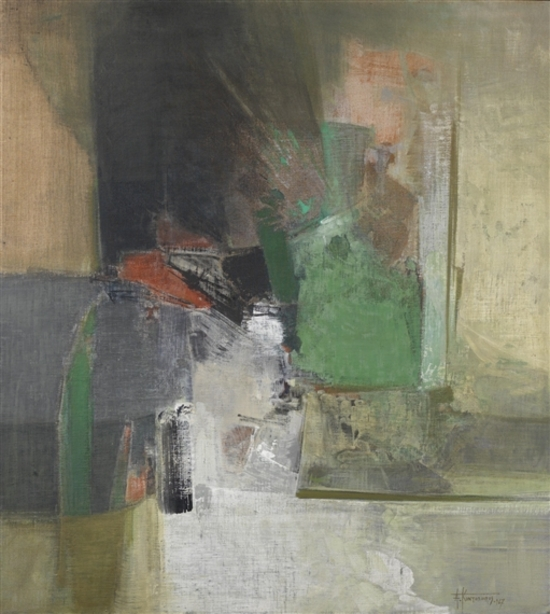 Quelques peintres grecs abstraits