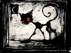 La nuit du chat noir de Gaëlle Perrin-Guillet