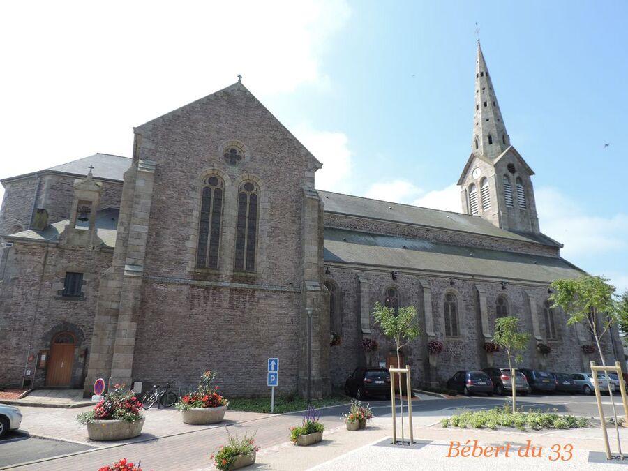 l'église de Plouézec dept 22