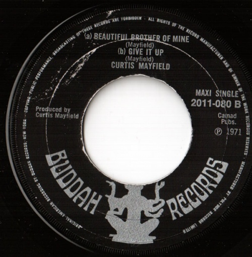 1971 : Single Maxi Buddah Records 2011 080 [ UK ]