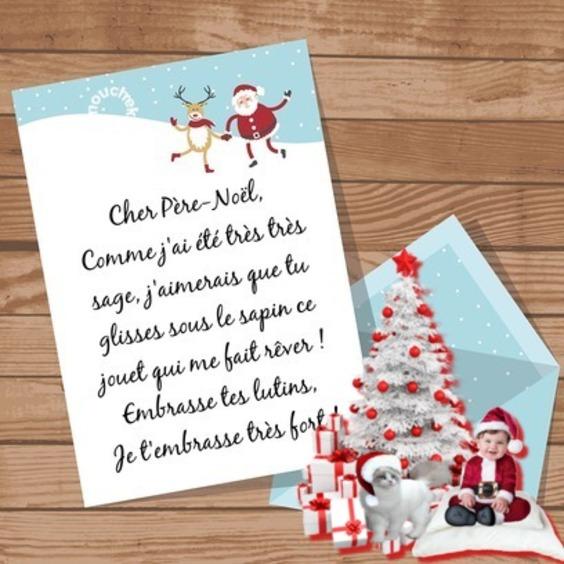 lettre du Père Noel