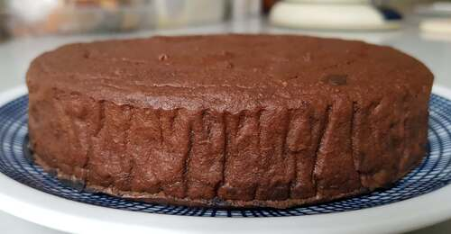 Fondant truffé patate douce & farine d'avoine, chocolat noir, cacao & Flav'Drops