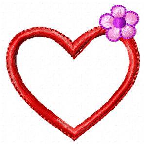 mon coeur balance ( broderie pes)