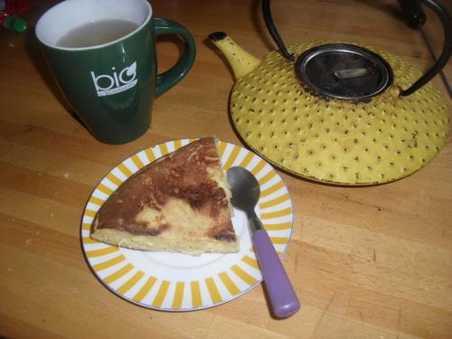 Un gâteau pomme banane à la poele pour un dessert vite fait bien fait