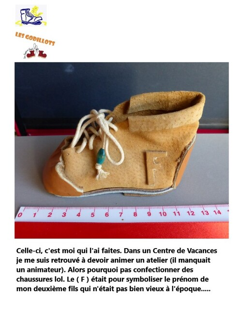 Mes mini-chaussures !!!