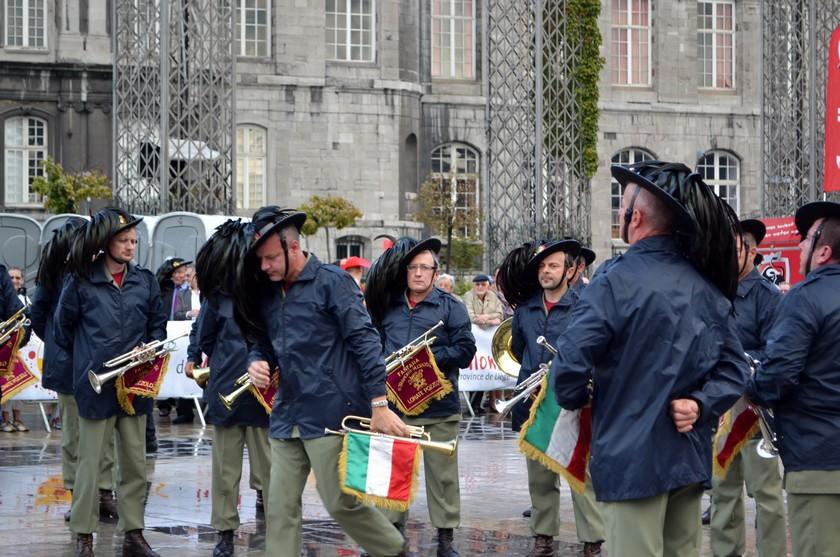 Fêtes de Wallonie à Liège les Fanfares