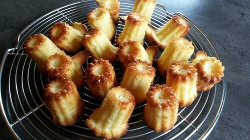 Petits gâteaux moelleux au Cointreau