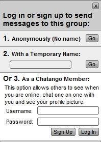Tuto : Se faire un compte Chatango pour le Tchat