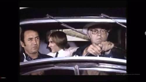 """Hommage à Claude Brasseur qui vient de nous quitter aujourd'hui. Avec Jean Richard dans le film """"Le viager"""" de Pierre Tchernia"""