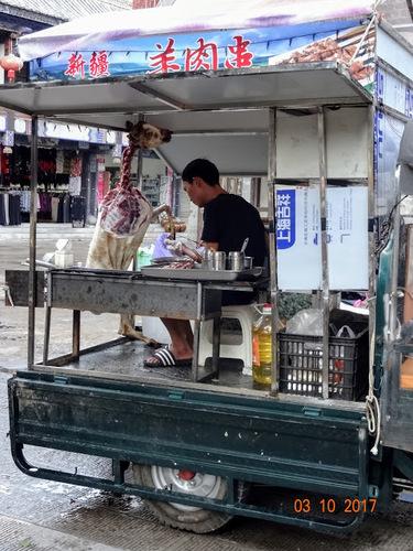 les petits métiers de rue à Jianshui