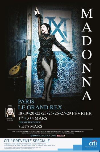Madame X Tour : 2 nouvelles dates parisiennes