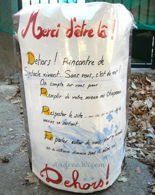 """Chronique 9...Festival """"Dehors"""" 2012...Reportage photographique 4..."""