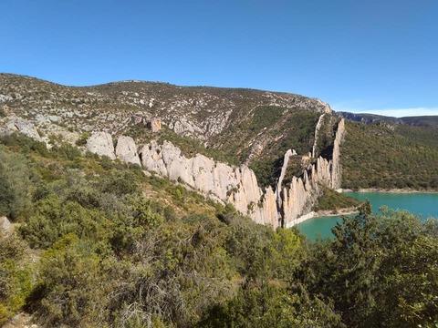 El Congosto de Mont Rebei & Murailles de Finestras