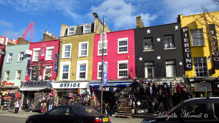 Londres: Camden town & markets