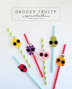 Printable Groovy Fruity | DESIGN IS YAY!