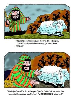 Parabole du mouton perdu