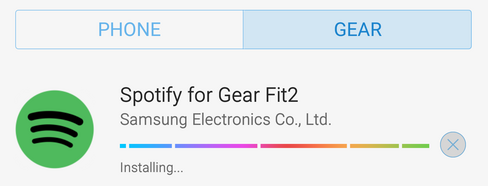 Tuto : comment installer Spotify sur le Samsung Gear Fit 2 ?
