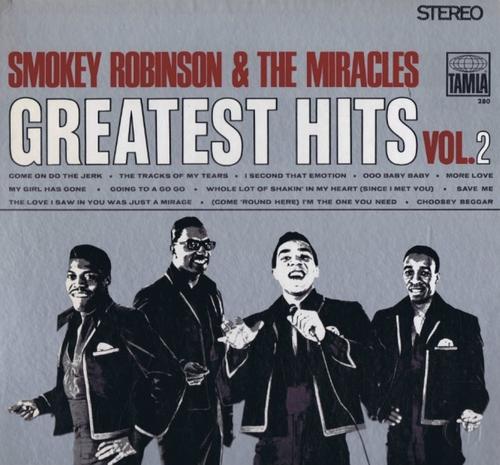 "Smokey Robinson & The Miracles : Album "" Greatest Hits Vol. 2 "" Tamla Records TS 280 [ US ]"