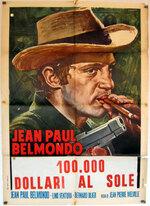 100 000 DOLLARS AU SOLEIL - BOX OFFICE LINO VENTURA 1964