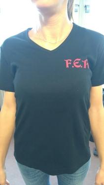 Commande de Blousons & T-Shirts  Logo F.E.R