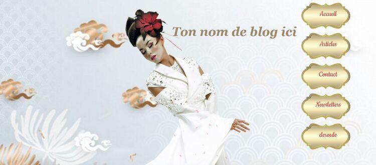 La dame Blanche Asie