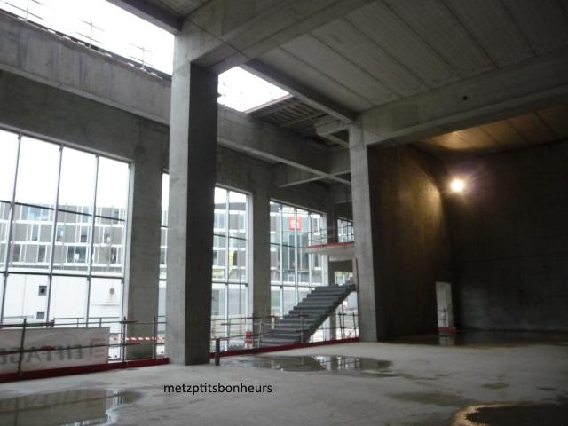 Le futur centre de congrès.....