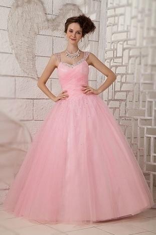 Robe de mariée Rose-mode pénétrable