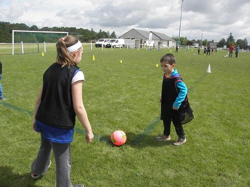 Journée foot : les jeux