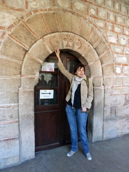 Jour 3 - Bansko l'église - la croix et le croissant