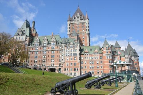 Quebec   le château Frontenac
