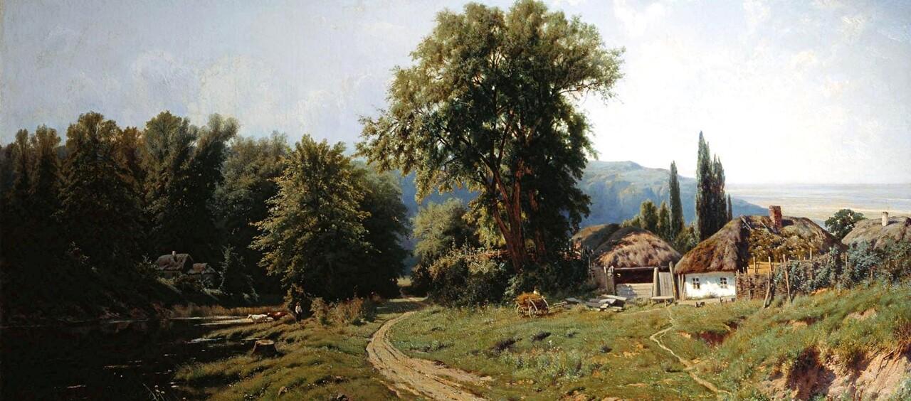 Kryjitski 1 / un paysagiste russe du 19 ème siècle.