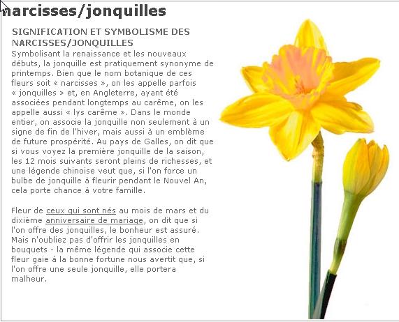 LES JONQUILLES
