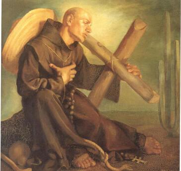 Saint Diégo Didace, frère mineur à Ségovie († 1463)