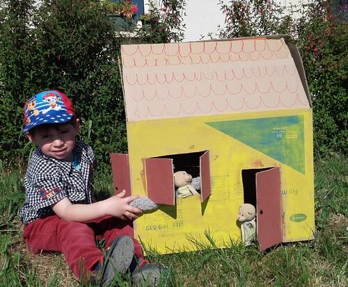 Une cabane dans le jardin ou à la maison?