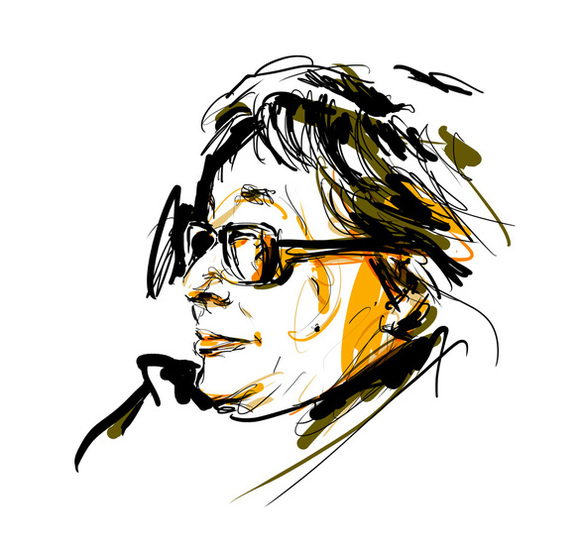 Marguerite-Duras Portrait Dessin Seb Jarnot