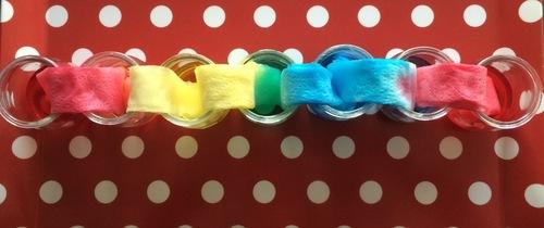 Transfert de couleurs par capillarité