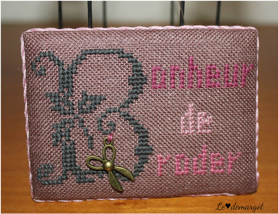 "Mon ATC ""Broderie"""