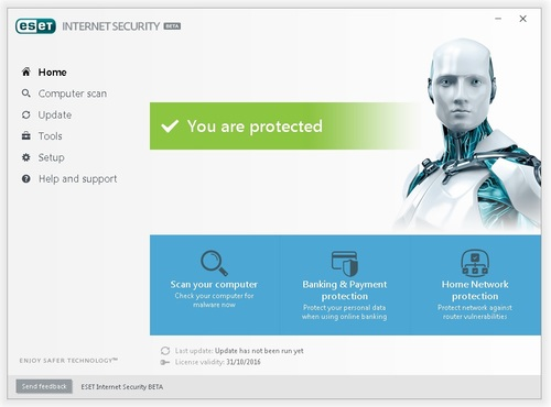 ESET Internet Security 10 Beta - Licence 6 mois gratuits