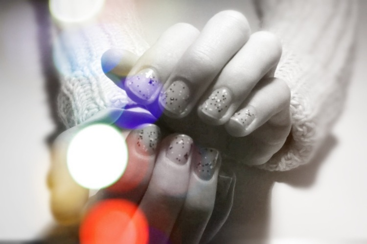 Smile up ! Nail art • Confetti