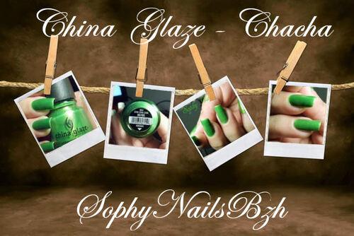 Chacha China Glaze
