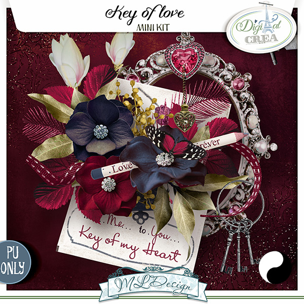 KEY OF LOVE by MLDesign