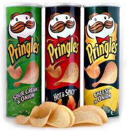 Les chips Pringles
