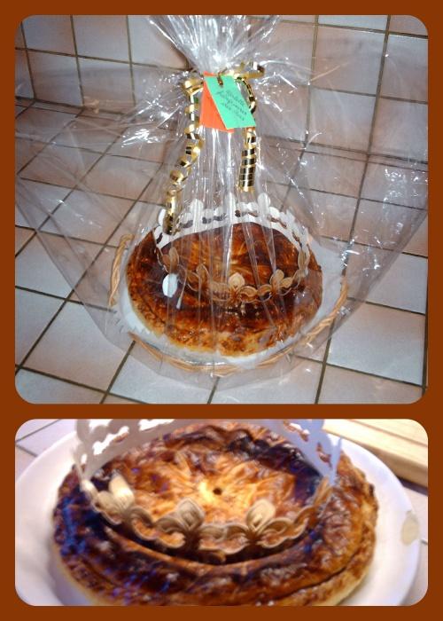 Cadeau original:  La galette des rois frangipoire