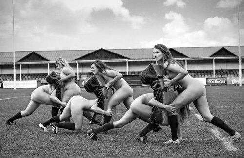 CALENDRIER - L'équipe féminine de Rugby de l'université d'Oxford nues